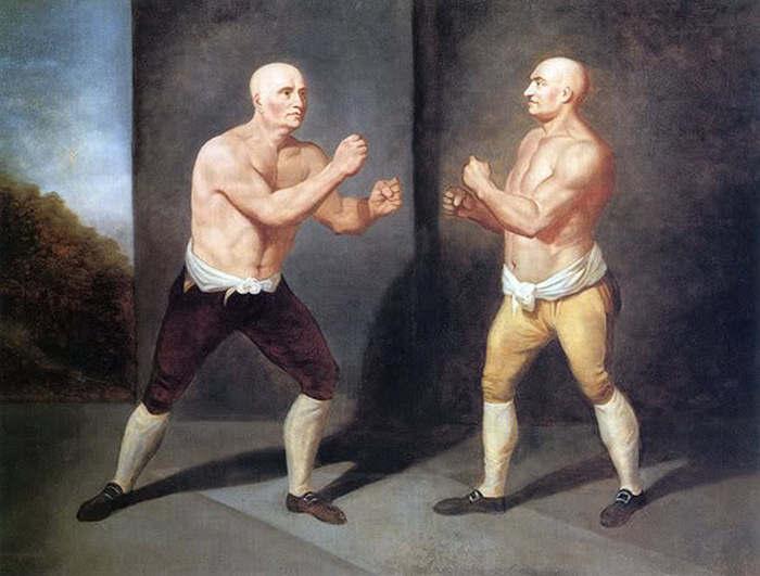Кровавый бокс XIX века