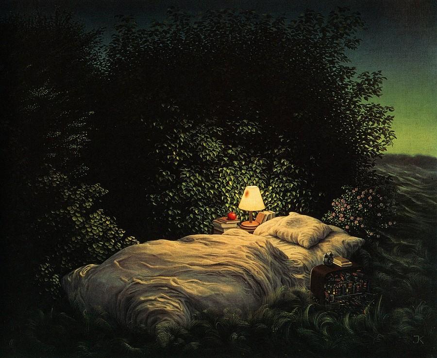 Сюрреалистичные полотна Яцека Йерка