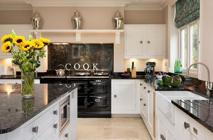 10 дизайнерских секретов, чтобы сделать из кухни картинку