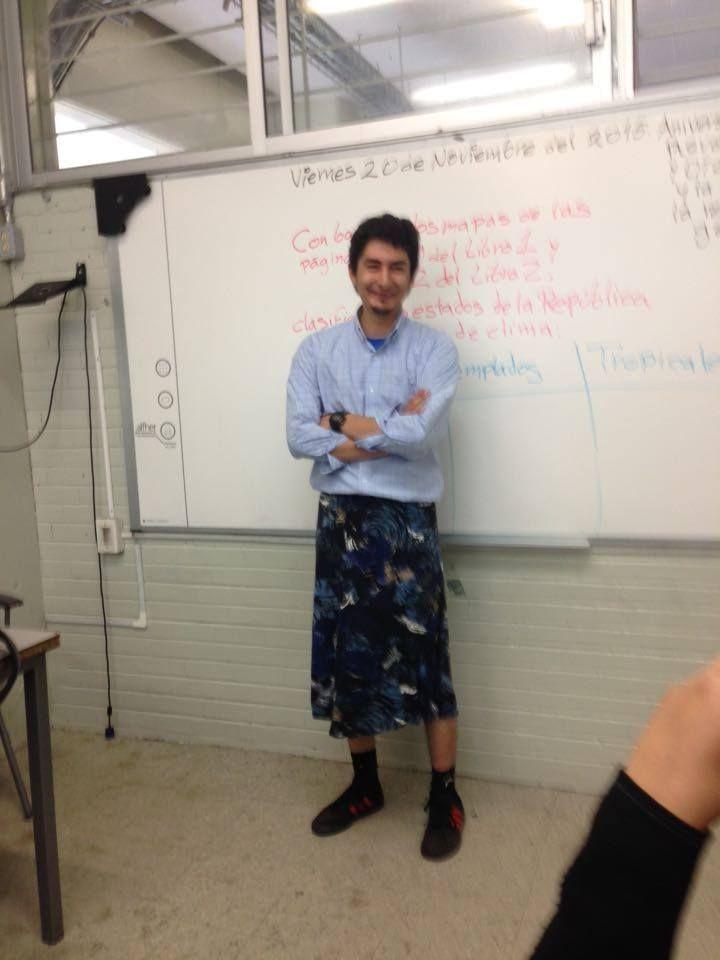 День юбки в мексиканских школах