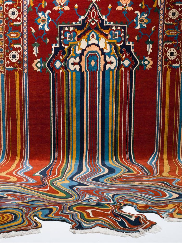 Креативные азербайджанские ковры от Фаига Ахмета