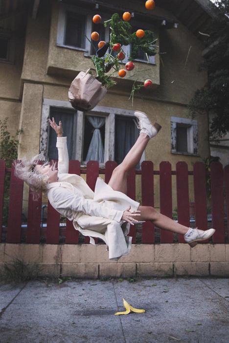 Когда гравитации не все подвластно на фотографиях Майка Демпси