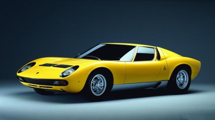 Заднеприводные суперкары Lamborghini