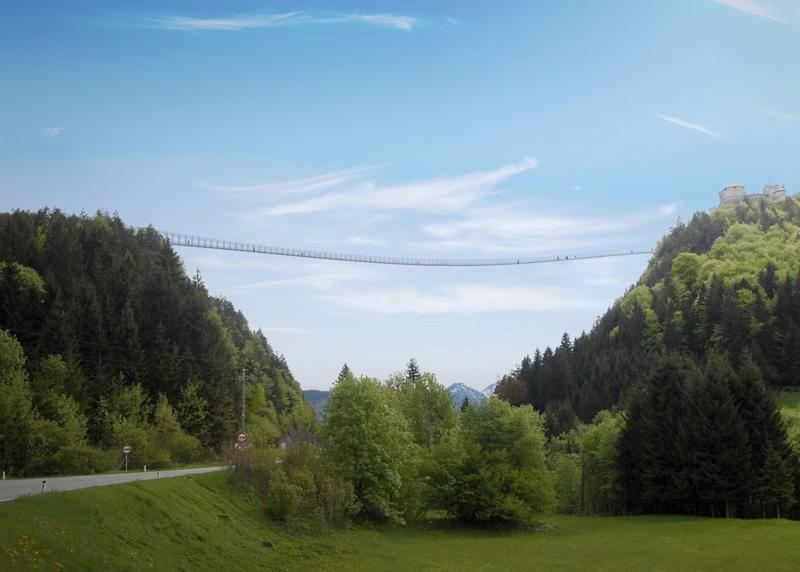 Головокружительные подвесные мосты из разных стран мира