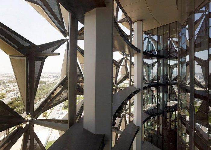 Зонтичные башни-близнецы Аль Бахар