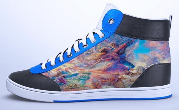 Дизайн этих кроссовок можно менять при помощи смартфона
