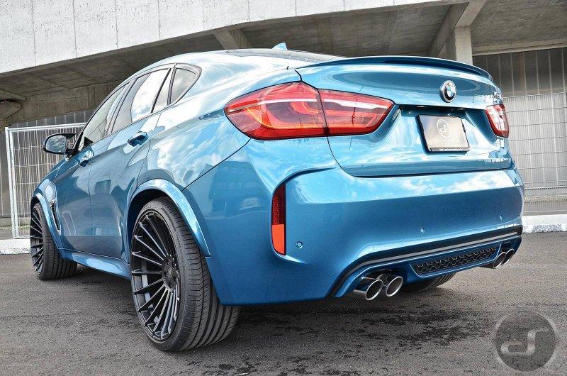 Тюнингованный BMW X6 M от Hamann