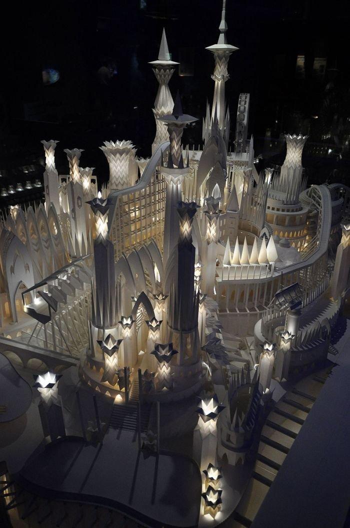 Бумажный дворец из Японии