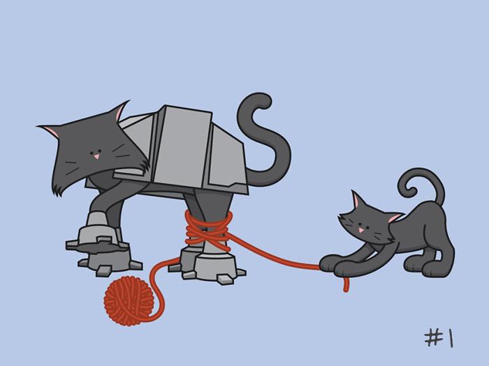 Открытки с котиками на все случаи жизни