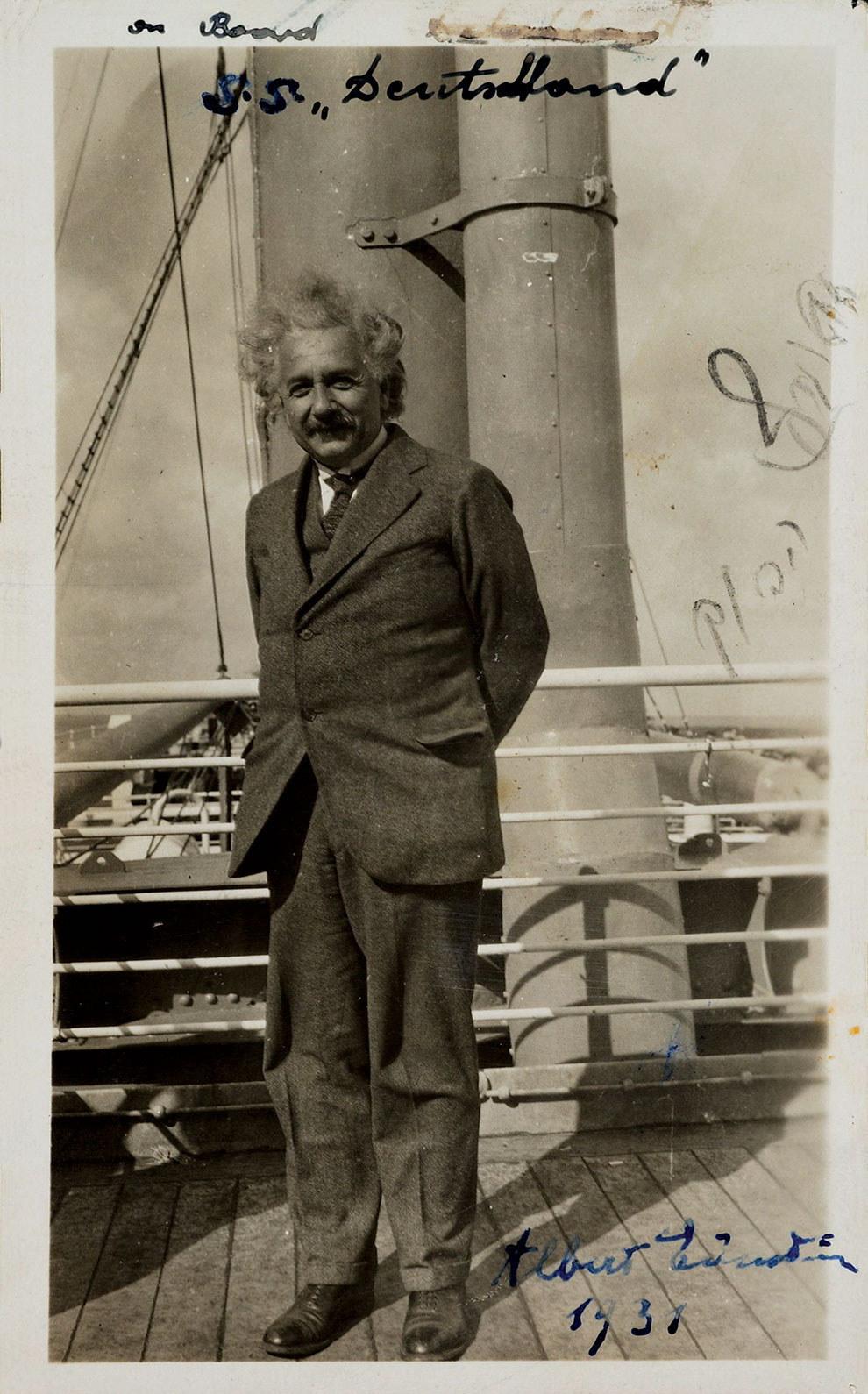 14 редких фотографий Альберта Эйнштейна