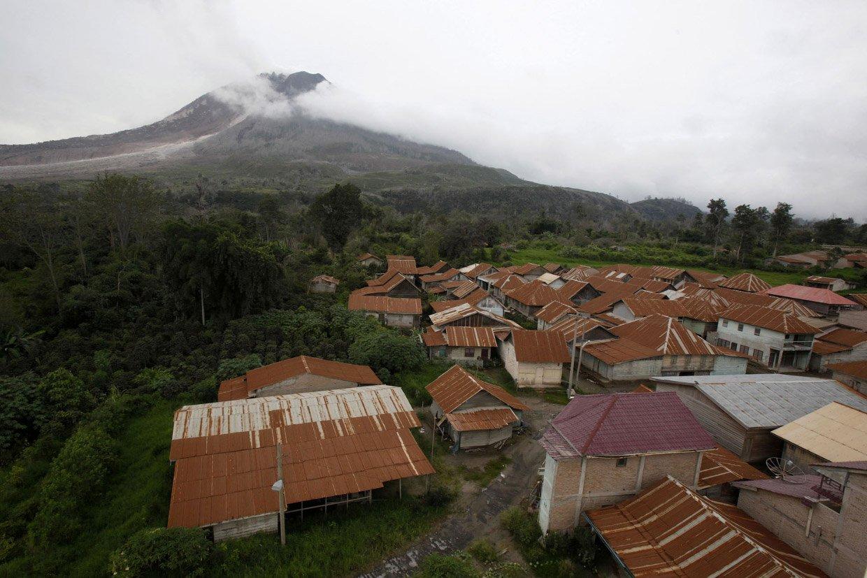 Вулканические деревни-призраки в Индонезии
