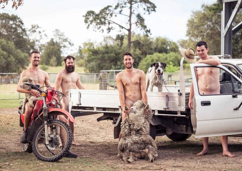 Студенты Университета Сиднея разделись для благотворительного календаря