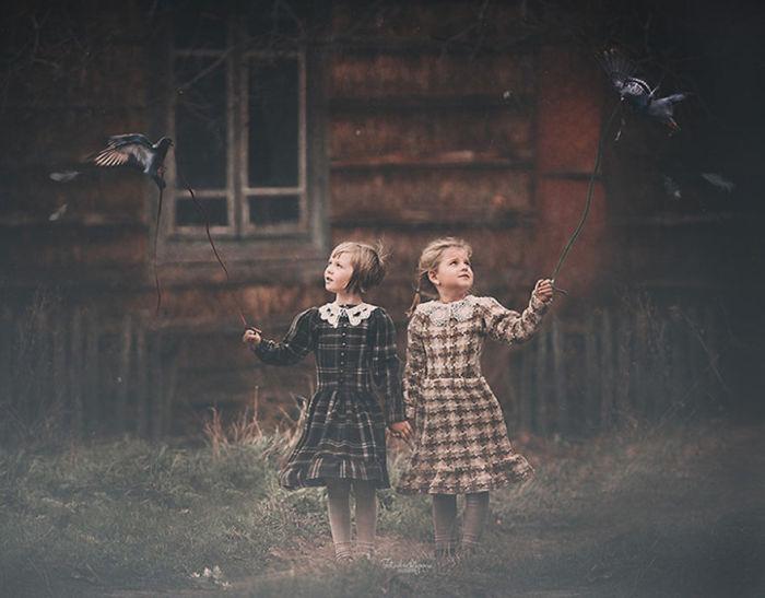20 фотографий детей и животных с фотоконкурса Children and animals