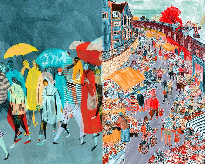 Лучшие иллюстраторы, которые удивили нас в 2015 году