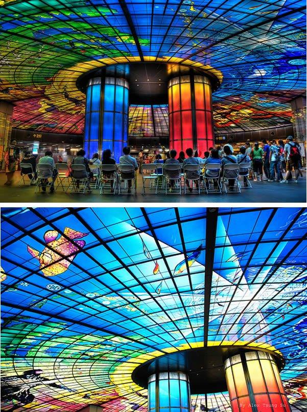 Самые изумительные потолки со всего мира