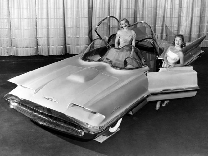 9 концептуальных автомобилей XXI века из 1950-х