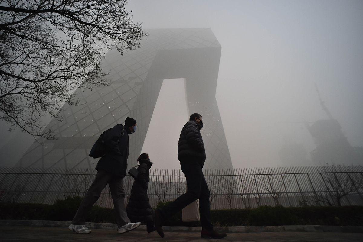 Пекин задыхается во власти смога