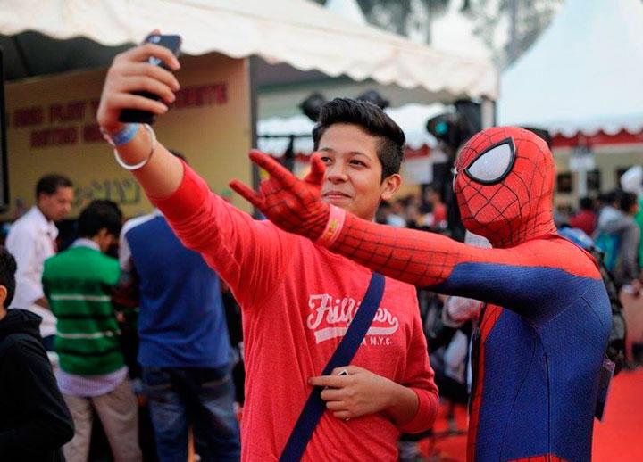 В Индии провели свой ComicCon