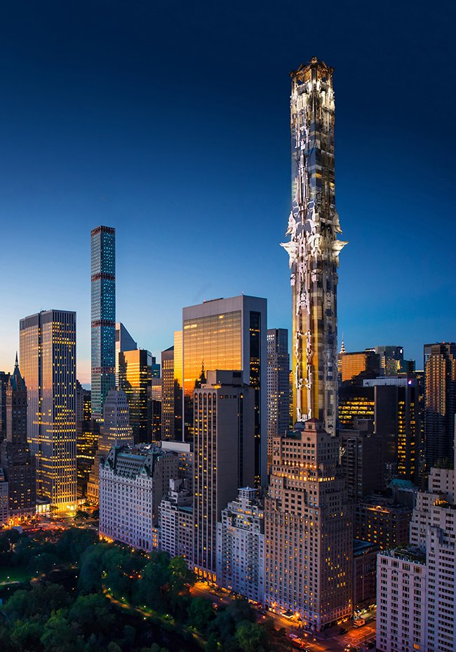 Проект фэнтези-небоскреба от Марка Фостера