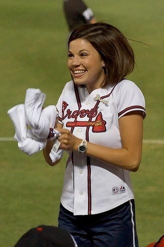 Красивые девушки из групп поддержки бейсболистов