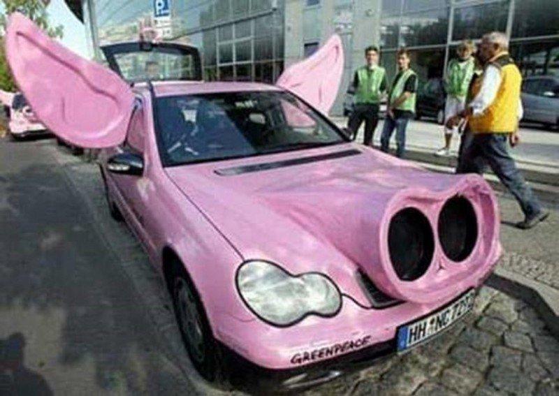 Модифицированные автомобили от энтузиастов