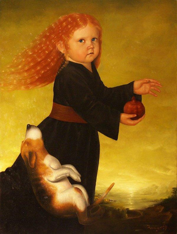 Сюрреалистичные картины литовского художника Romualdas Petrauska