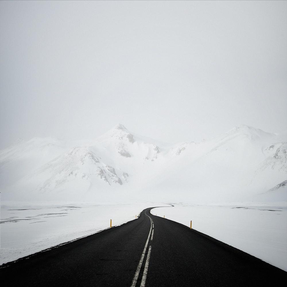Зимний минимализм на фотографиях