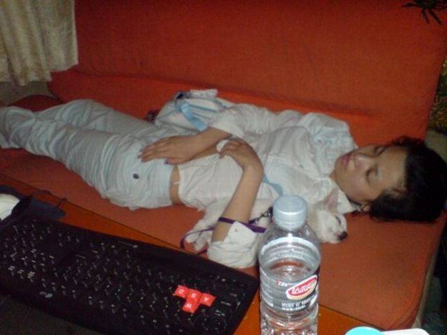 Отдых в китайских интернет кафе