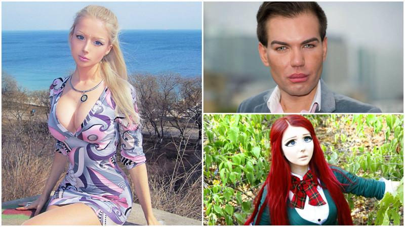 15 людей, которые превратили себя в кукол