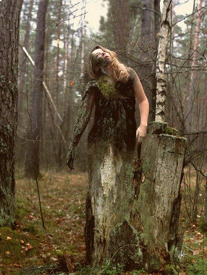 Фотопроект о взаимодействии человека с природой от Annija Veldre