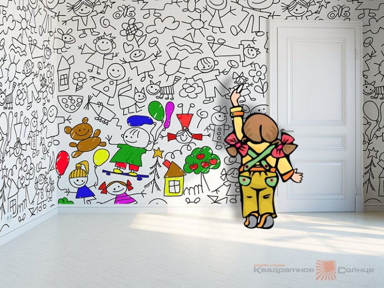 Обои-раскраски от Джона Бургермана