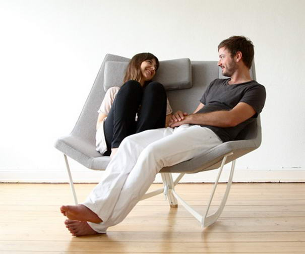Креативные предметы мебели для влюбленных пар