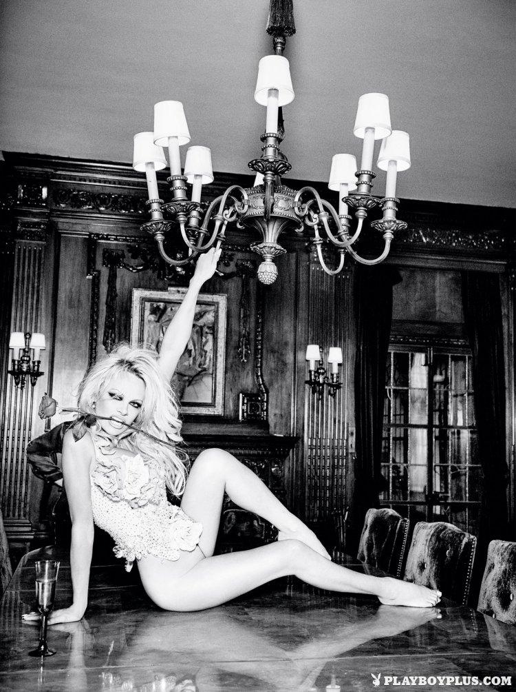 Памела Андерсон в журнале Playboy