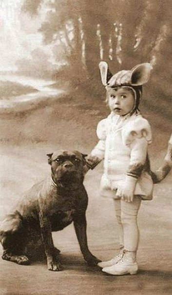 Ретро фотографии с детками