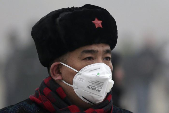 Модные марлевые повязки в Китае