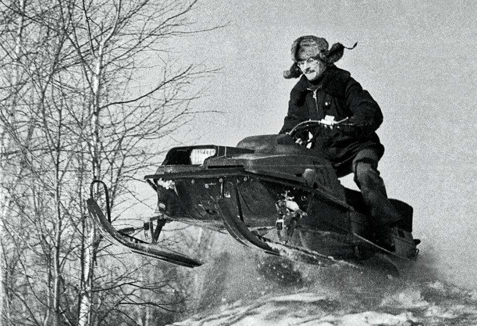 Буран - советский снегоход-долгожитель