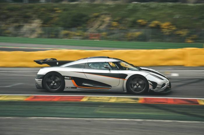 Гиперкар Koenigsegg за 6 миллионов долларов