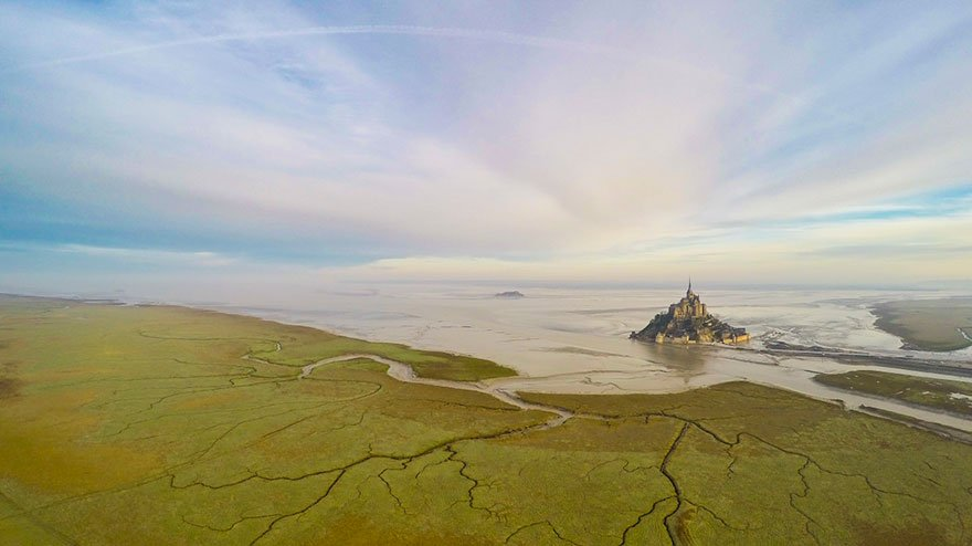 Лучшие фотографии с высоты из социальной сети Dronestagram 2015 года