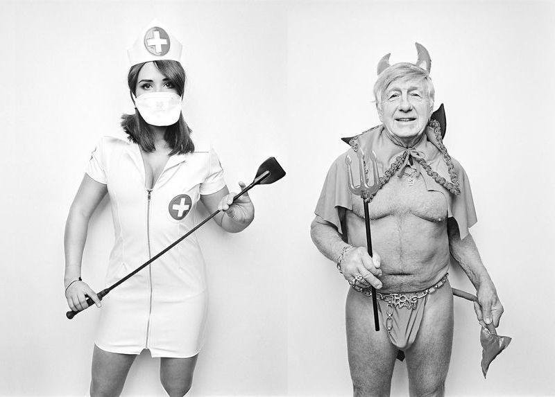 Посетители секс-конвенции в Торонто