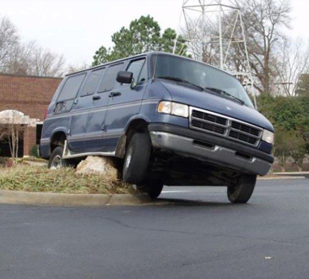 Шедевры мастеров парковки