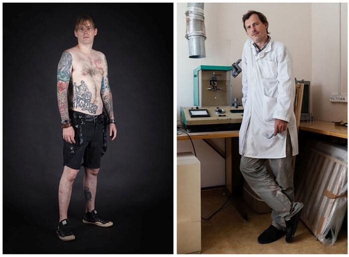 Фанаты татуировок из России