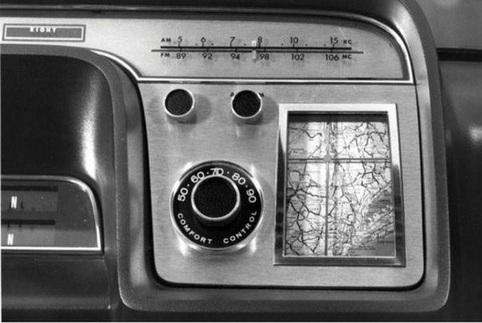 Ford Aurora - уникальный концепт 1964 года с первым навигатором