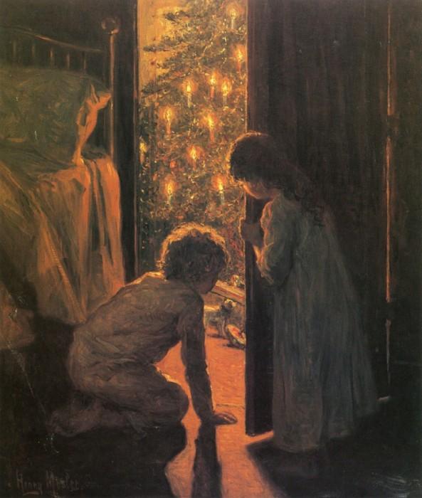 Новогодние картины с праздничным настроением