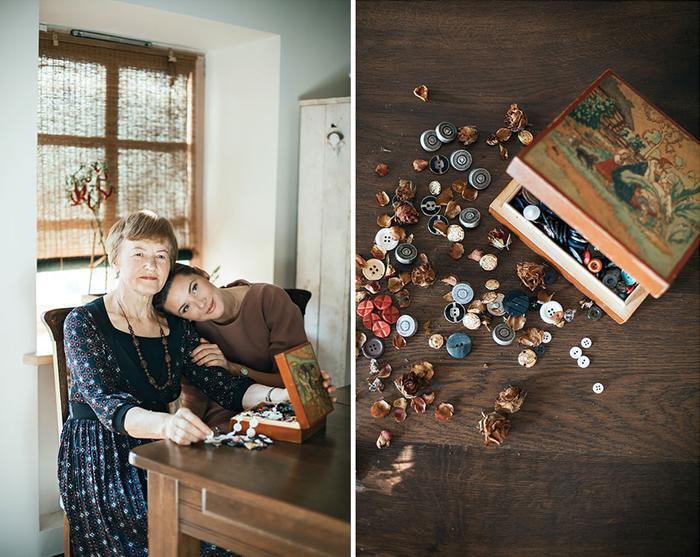 Подарки от бабушки к внучке
