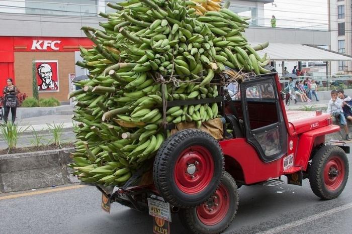 Джипао в Колумбии