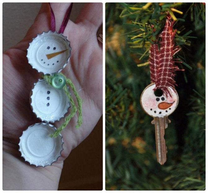 Украшаем елку игрушками, сделанными своими руками