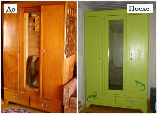 Новая жизнь для старой советской мебели