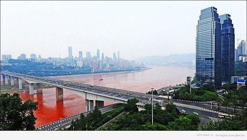 Интересные факты о красной реке