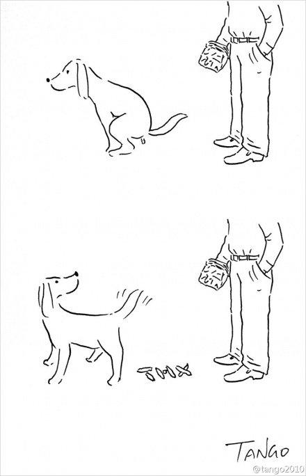 Интересные комиксы от художника Tango
