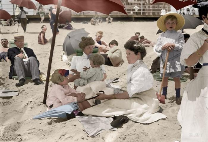 Колоризированные исторические снимки